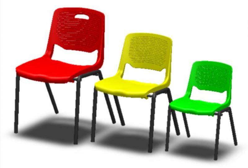 101. כסאות ציבעוניים לפי גדלים