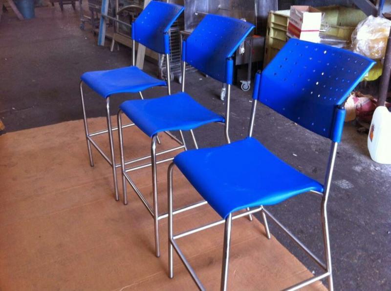 כסאות נירוסטה למפעלי מזון