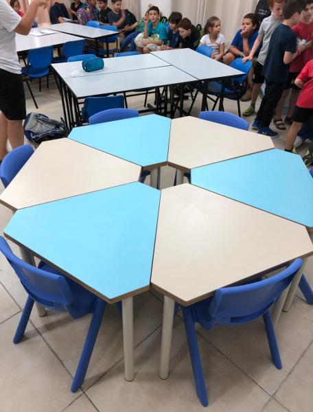225. שולחן תלמיד משולש