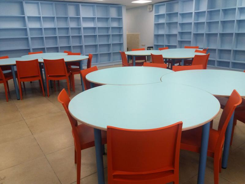 49. ספריה בעיצוב: שרון שטרן