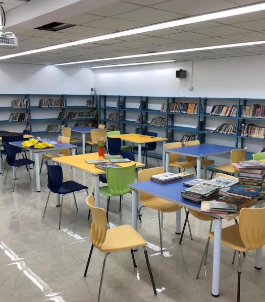 54. ספריה צבעונית צפת